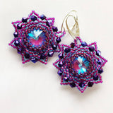 Purple Star Earrings - The Biscuit Marketplace