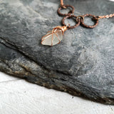 Copper Seaglass Necklace - The Biscuit Marketplace