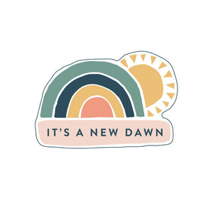 IT'S A NEW DAWN - ENAMEL PIN - The Biscuit Marketplace