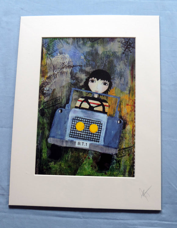 The Travelling Boy Print - The Biscuit Marketplace