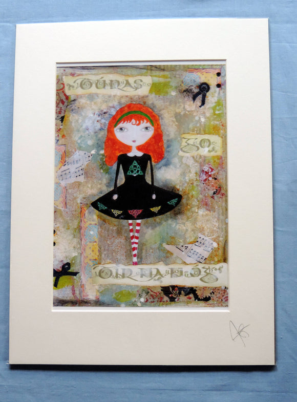Polly Dancer Print - The Biscuit Marketplace