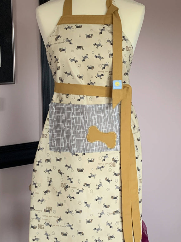 The Dog lover's apron - The Biscuit Marketplace