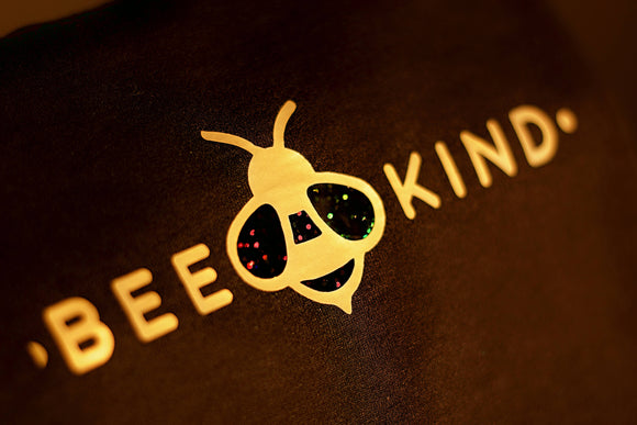 Bee Kind Tee (Black) - The Biscuit Marketplace