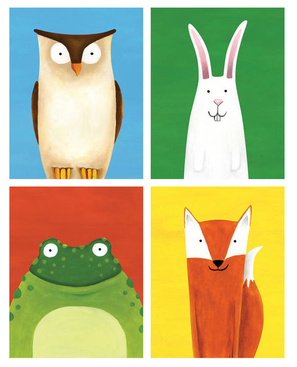 'Forest Friends' signed giclée print - The Biscuit Marketplace