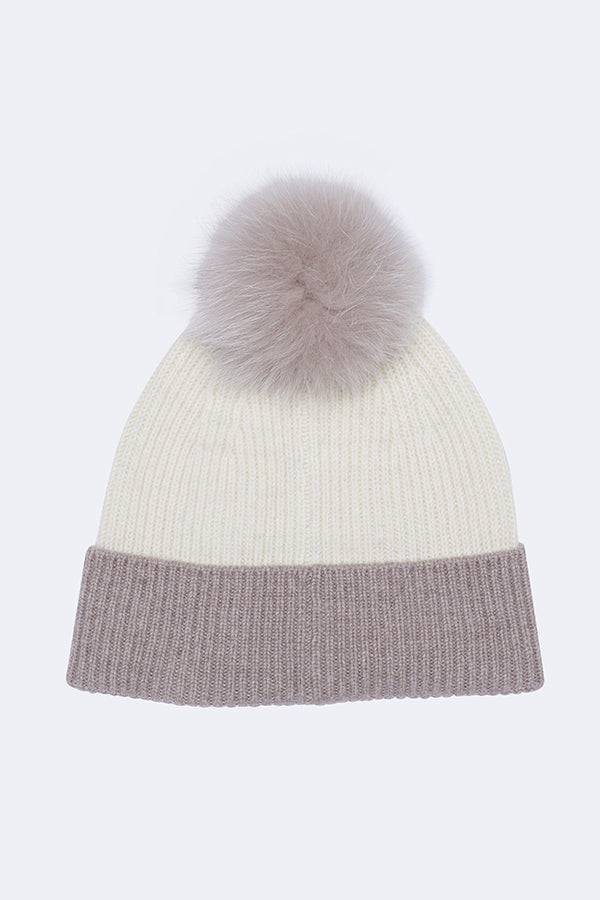 LILLIAN TWO TONE HAT