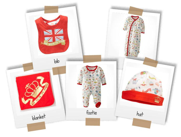 First royal baby collection