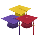 High School Graduation Cap & Tassel Packages