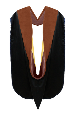 IN-STOCK GRADUATION DOCTORAL HOOD - COOPER VELVET - Graduation Cap and Gown