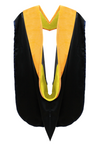 IN-STOCK GRADUATION DOCTORAL HOOD - SCIENCE GOLD VELVET - Graduation Cap and Gown