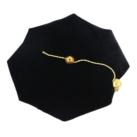 8 Sided Doctoral Tam - Academic Faculty Regalia