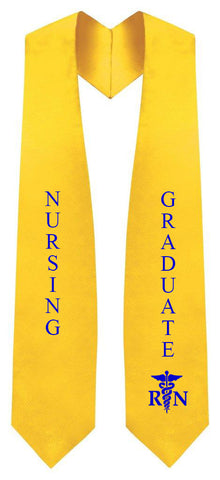 Nursing Stole - Graduation Cap and Gown