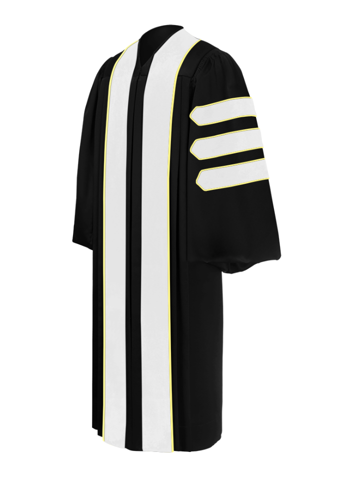 Doctor of Arts, Literature, Sociology & Letters Doctoral Gown - Academic Regalia - Graduation Cap and Gown