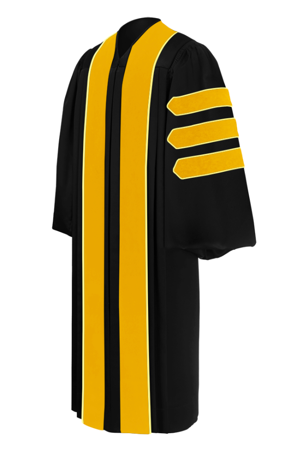 Doctor of Agriculture Doctoral Gown - Academic Regalia - Graduation Cap and Gown