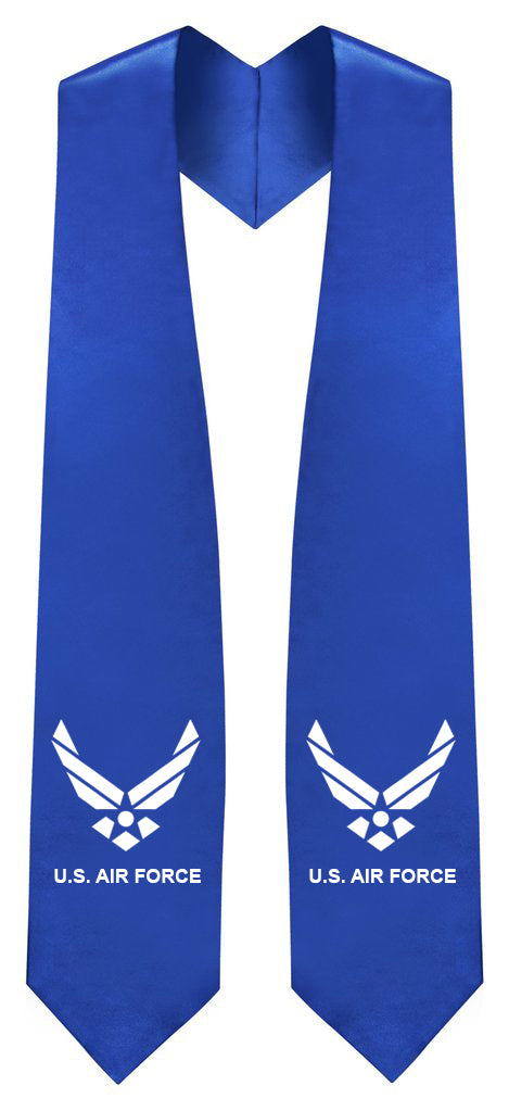U.S Air Force Stole - Graduation Cap and Gown