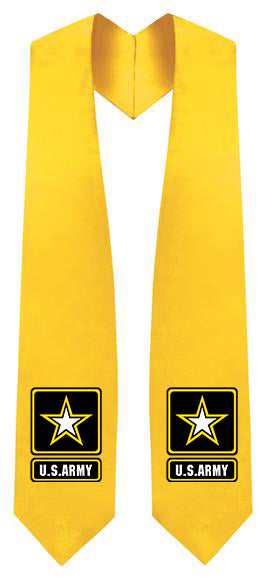 U.S Army Stole - Graduation Cap and Gown