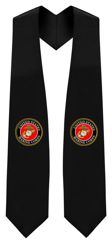 U.S Marine Corps Stole - Graduation Cap and Gown