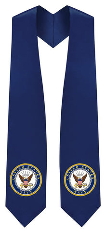 U.S Navy Stole - Graduation Cap and Gown