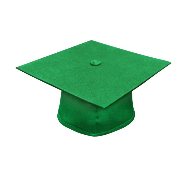 Eco-Friendly Emerald Green Masters Graduation Cap - Graduation Cap and Gown