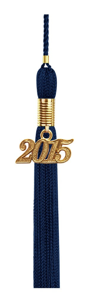 Navy Blue Graduation Tassel - College & High School Tassels - Graduation Cap and Gown