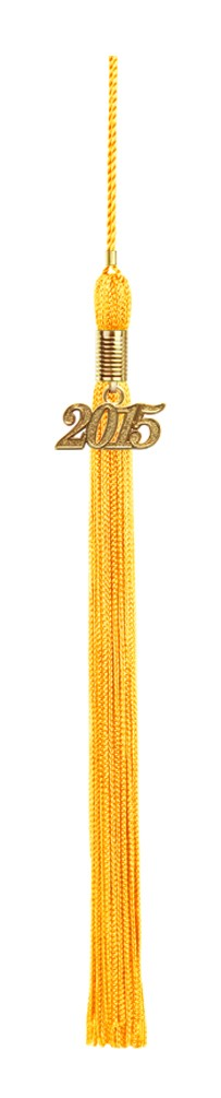 Gold Graduation Tassel - College & High School Tassels - Graduation Cap and Gown