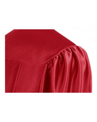 Shiny Red Bachelors Graduation Gown - College & University - Graduation Cap and Gown
