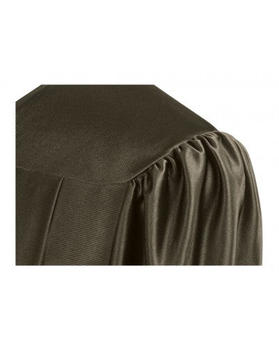 Shiny Brown Bachelors Graduation Gown - College & University - Graduation Cap and Gown