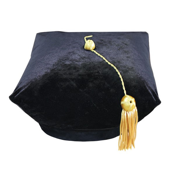 4 Sided Doctoral Tam - Graduation Cap and Gown