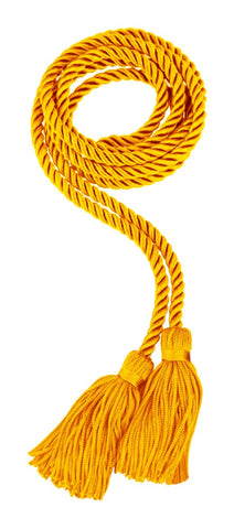 Antique Gold Graduation Honor Cord - College & High School Honor Cords - Graduation Cap and Gown