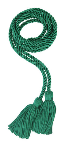 Emerald Green Graduation Honor Cord - High School & College Honor Cords - Graduation Cap and Gown