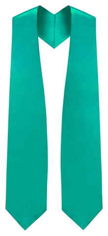 Emerald Green Graduation Stole - Emerald College & High School Stoles - Graduation Cap and Gown