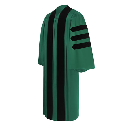 Custom Doctoral Graduation Gown - Doctorate Regalia - Graduation Cap and Gown