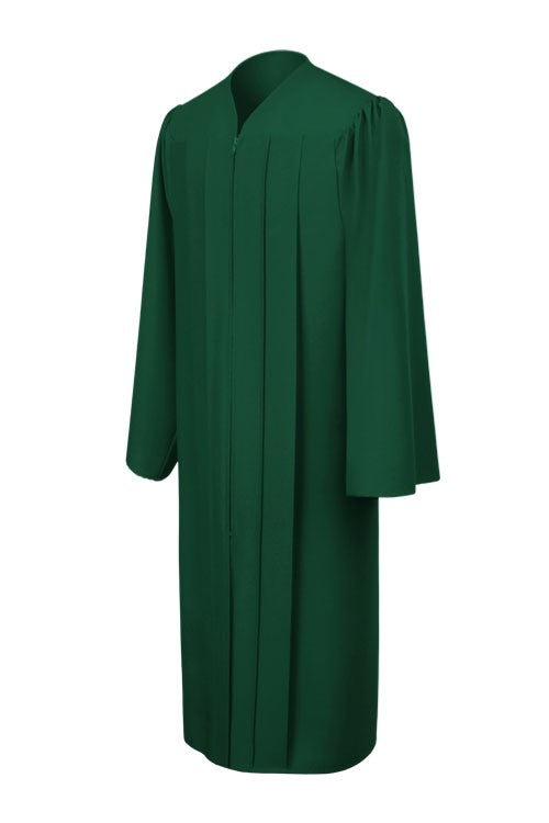 Matte Hunter High School Graduation Gown - Graduation Cap and Gown
