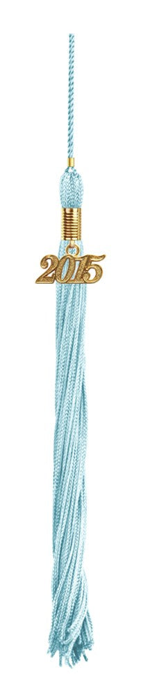 Child Light Blue Cap & Tassel - Kindergarten Graduation - Graduation Cap and Gown