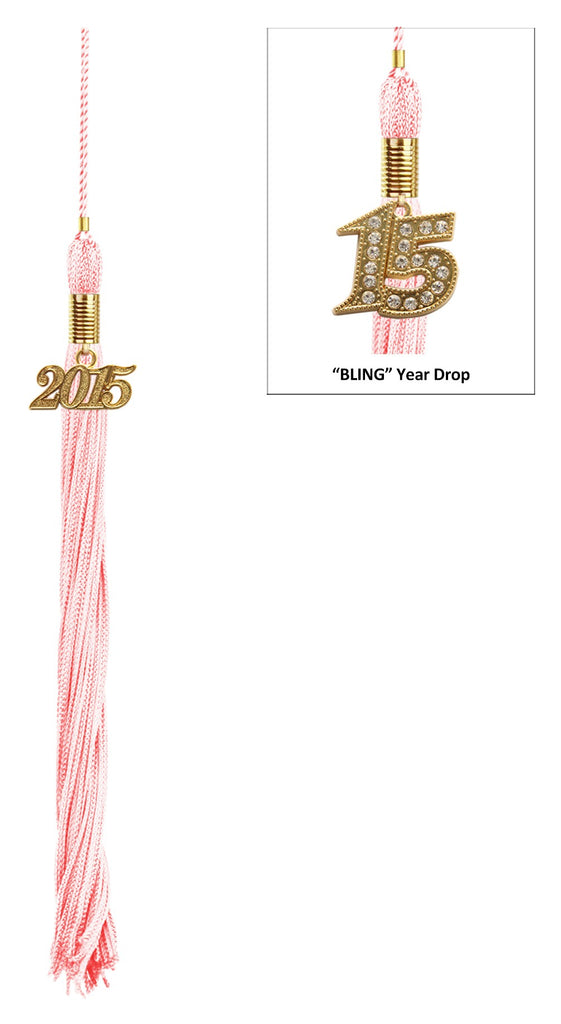 Shiny Pink High School Cap & Tassel - Graduation Caps - Graduation Cap and Gown