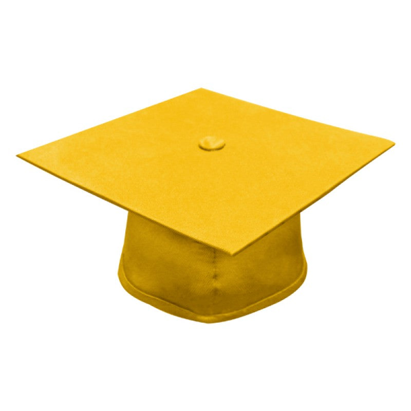 Matte Gold Bachelors Cap & Gown - College & University - Graduation Cap and Gown