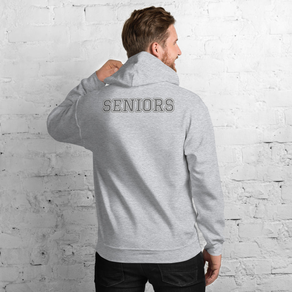 "Graduation ""CLASS OF 2020"" & ""SENIORS"" Unisex Hoodie - Graduation Cap and Gown"