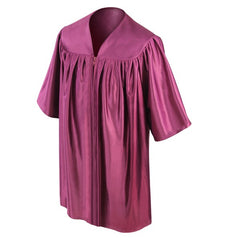 Childs Maroon Graduation Gown - Preschool & Kindgergarten Gowns - Graduation Cap and Gown