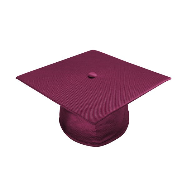 Child Maroon Graduation Cap Gown Preschool Kindergarten