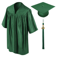 Child Hunter Graduation Cap & Gown - Preschool & Kindergarten - Graduation Cap and Gown