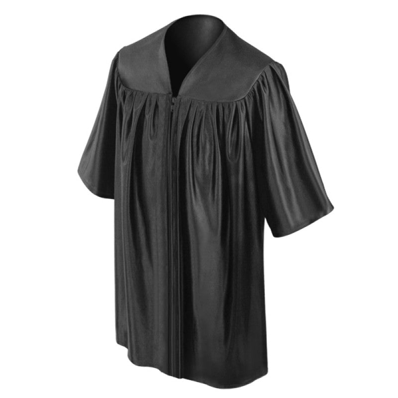 Child Black Graduation Gown - Preschool & Kindergarten Gowns - Graduation Cap and Gown