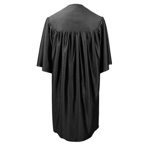 Child Black Graduation Gown - Preschool & Kindergarten Gowns