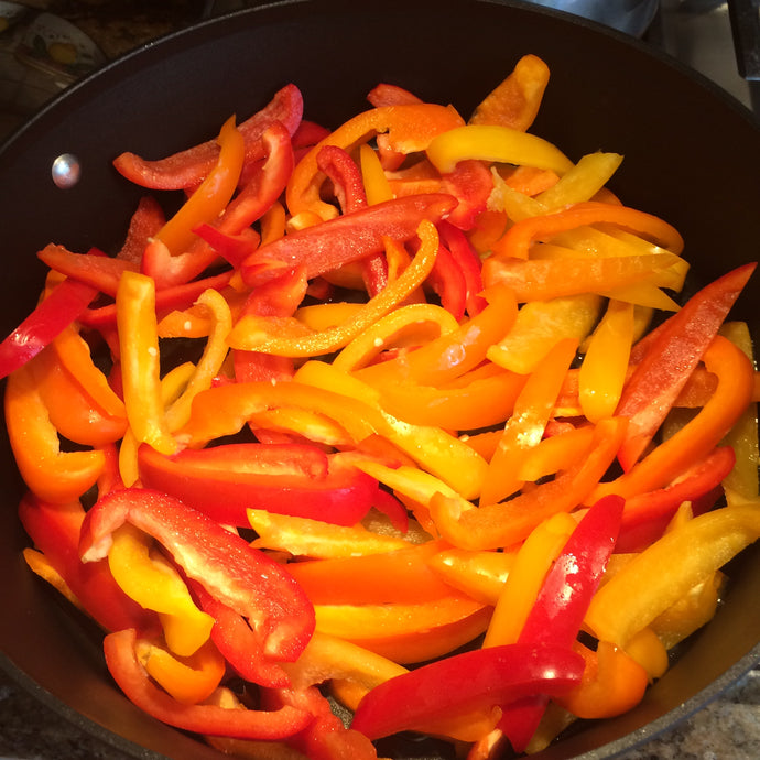 Mixed Bell Peppers 1lb / 16oz / 4 servings