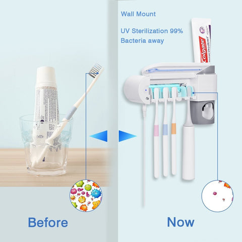 Image of Dentalpro™ 3-in-1 Toothbrush Sterilizer