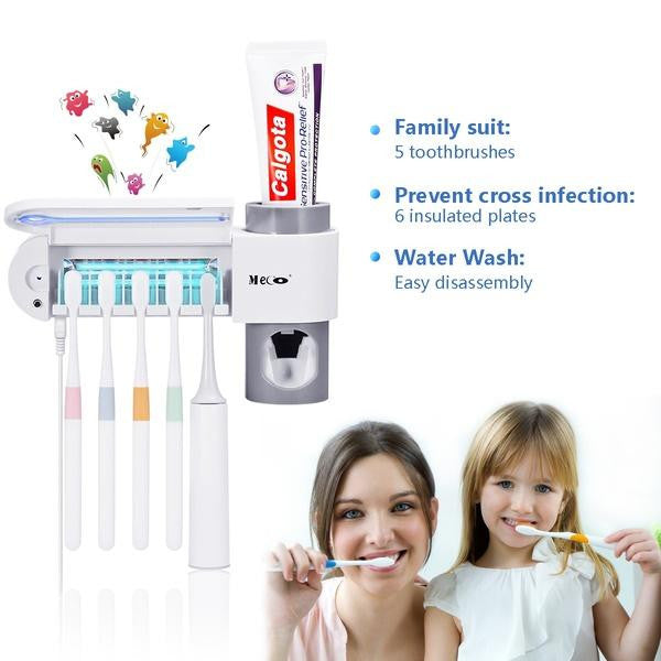 Dentalpro™ 3-in-1 Toothbrush Sterilizer