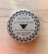 Load image into Gallery viewer, beeswax lotion bar closed