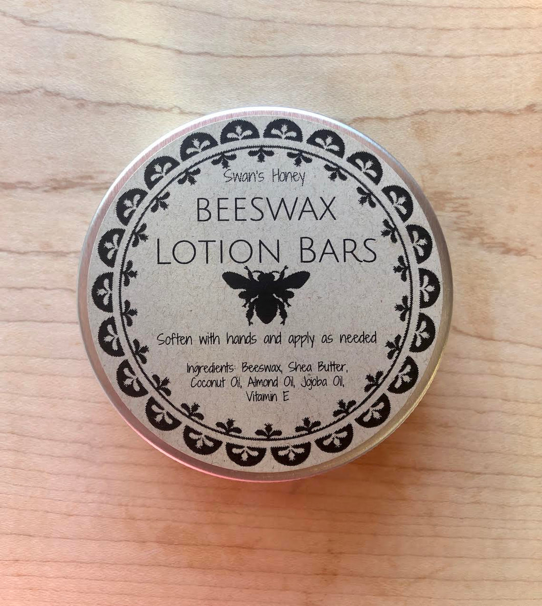 beeswax lotion bar closed