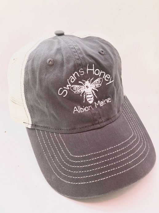 swan's honey trucker hat