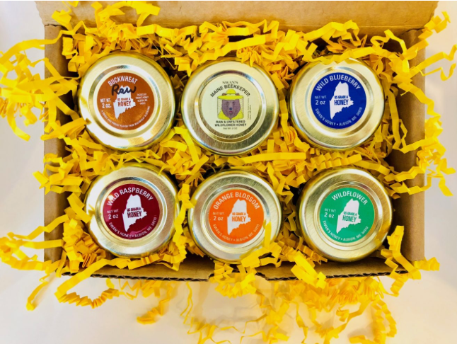 honey sampler box