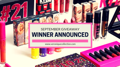 Veronique Collection's September 2018 Giveaway – Winner Announced
