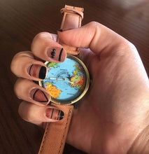Load image into Gallery viewer, Wanderlust Map Watch - Veroniques Collection
